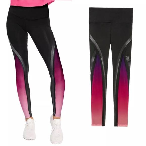 52971be2a8e580 Vs PINK Ultimate High Waist ombré Mesh Legging XS. Boutique. PINK  Victoria's Secret